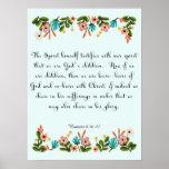 Cool Christian Art - Romans 8:16-17 Print