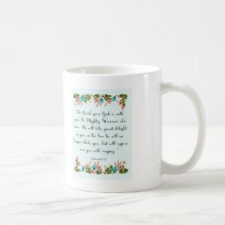 Cool Christian Art - Zephaniah 3:17 Coffee Mug