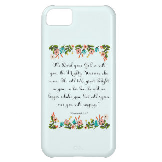 Cool Christian Art - Zephaniah 3:17 iPhone 5C Cover