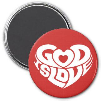 Cool Christian God Is Love Bible Verse Scripture Magnet