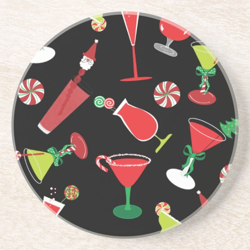 Cool Christmas Cocktails Coaster