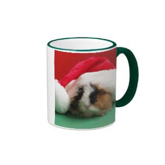 Cool Christmas Guinea Pig Mug