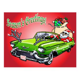 Cool Christmas! Postcard