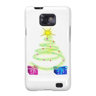 Cool Christmas Tree Galaxy S2 Cover