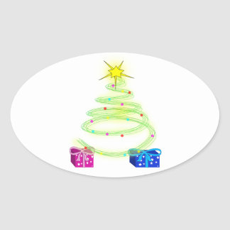 Cool Christmas Tree Sticker