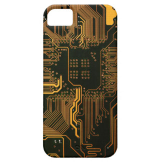 Cool Circuit Board Computer copper and black iPhone 5 Cover