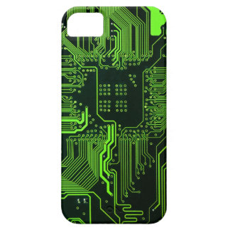 Cool Circuit Board Computer Green iPhone 5 Cover