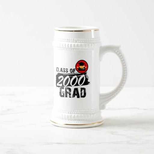 Cool Class of 2000 Grad Coffee Mugs