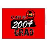 Cool Class of 2004 Grad Card
