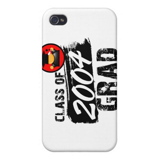 Cool Class of 2004 Grad iPhone 4 Cover