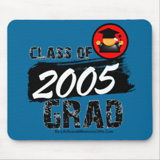 Cool Class of 2005 Grad Mouse Pad