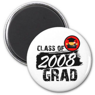 Cool Class of 2008 Grad 2 Inch Round Magnet
