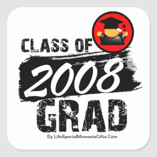 Cool Class of 2008 Grad Sticker
