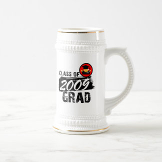 Cool Class of 2009 Grad 18 Oz Beer Stein