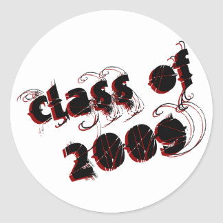 Cool Class of 2009 Shirts & Gifts Classic Round Sticker