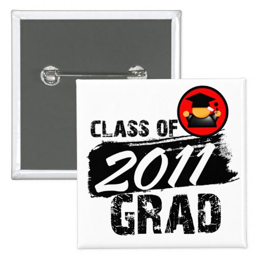 Cool Class of 2011 Grad Pins