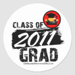 Cool Class of 2011 Grad Stickers