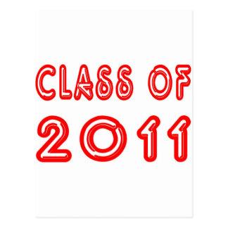 Cool Class of 2011 Postcard