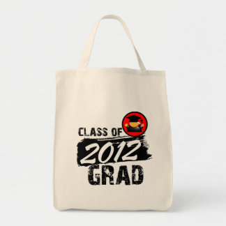 Cool Class of 2012 Grad Tote Bag