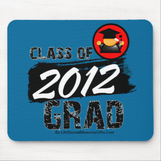 Cool Class of 2012 Grad Mousepad