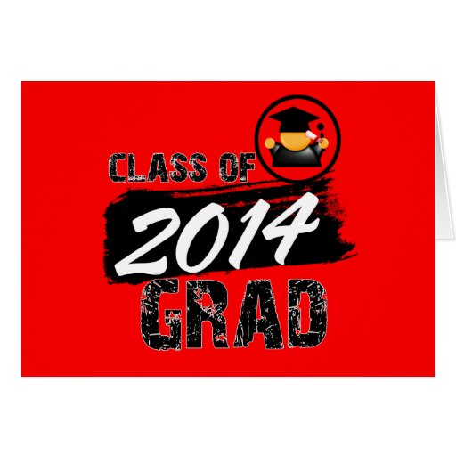 Cool Class of 2014 Grad Cards