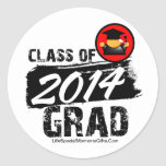 Cool Class of 2014 Grad Stickers