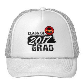 Cool Class of 2017 Grad Trucker Hat