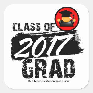 Cool Class of 2017 Grad Sticker