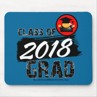 Cool Class of 2018 Grad Mouse Pad