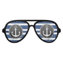 Cool Classic Anchor Aviator Sunglasses