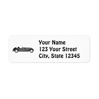 Cool Classic Car Label