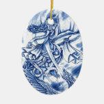 Cool Classic Japanese Demon tattoo Ornament