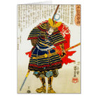 Cool classic oriental japanese samurai art japan card