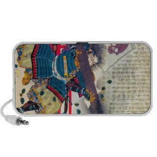 Cool classic oriental japanese samurai art japan iPod speaker
