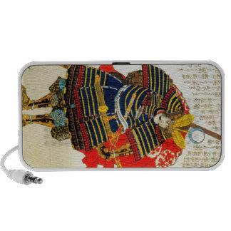 Cool classic oriental japanese samurai art japan mini speaker