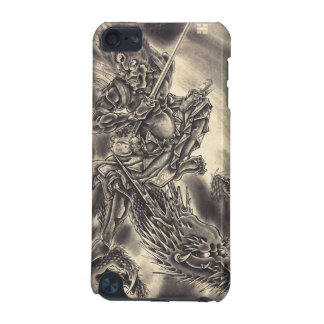 Cool classic vintage japanese demon dragon tattoo iPod touch 5G covers