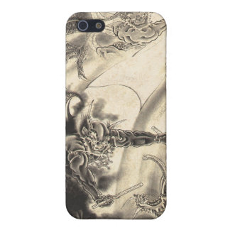 Cool classic vintage japanese demon dragon too iPhone SE/5/5s cover