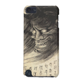 Cool classic vintage japanese demon head tattoo iPod touch (5th generation) cover