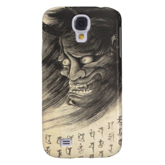 Cool classic vintage japanese demon head tattoo samsung galaxy s4 cover