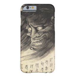 Cool classic vintage japanese demon ink tattoo barely there iPhone 6 case