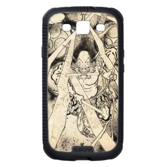 Cool classic vintage japanese demon ink tattoo samsung galaxy SIII covers
