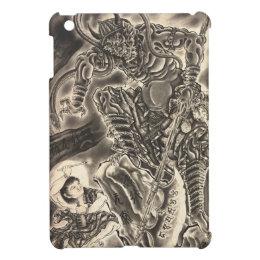 Cool classic vintage japanese demon ink tattoo iPad mini covers