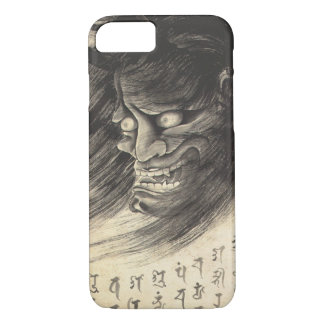 Cool classic vintage japanese demon ink tattoo iPhone 8/7 case