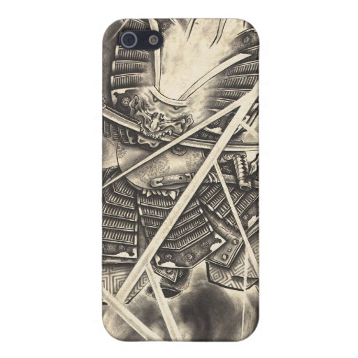 Cool classic vintage japanese demon ink too iPhone 5/5S case