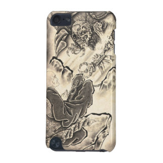 Cool classic vintage japanese demon monk tattoo iPod touch 5G cover