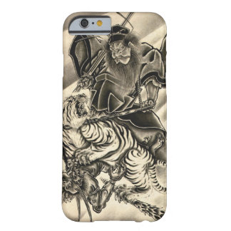 Cool classic vintage japanese demon samurai tiger barely there iPhone 6 case