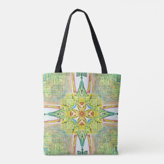 Cool Classy Chic Pastel Cross Modern Pattern Tote Bag
