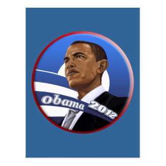 Cool Classy Sophisticated Obama 2012 Postcard