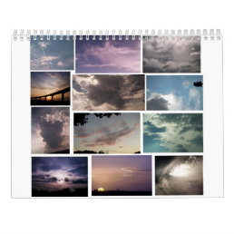 cool cloudscape calendar