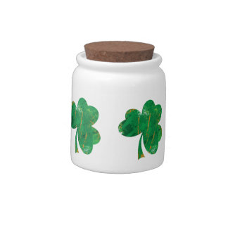 Cool Clover Candy Dishes